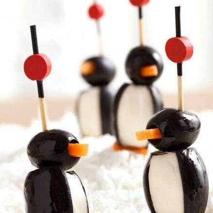 Pinguini come antipasti originali