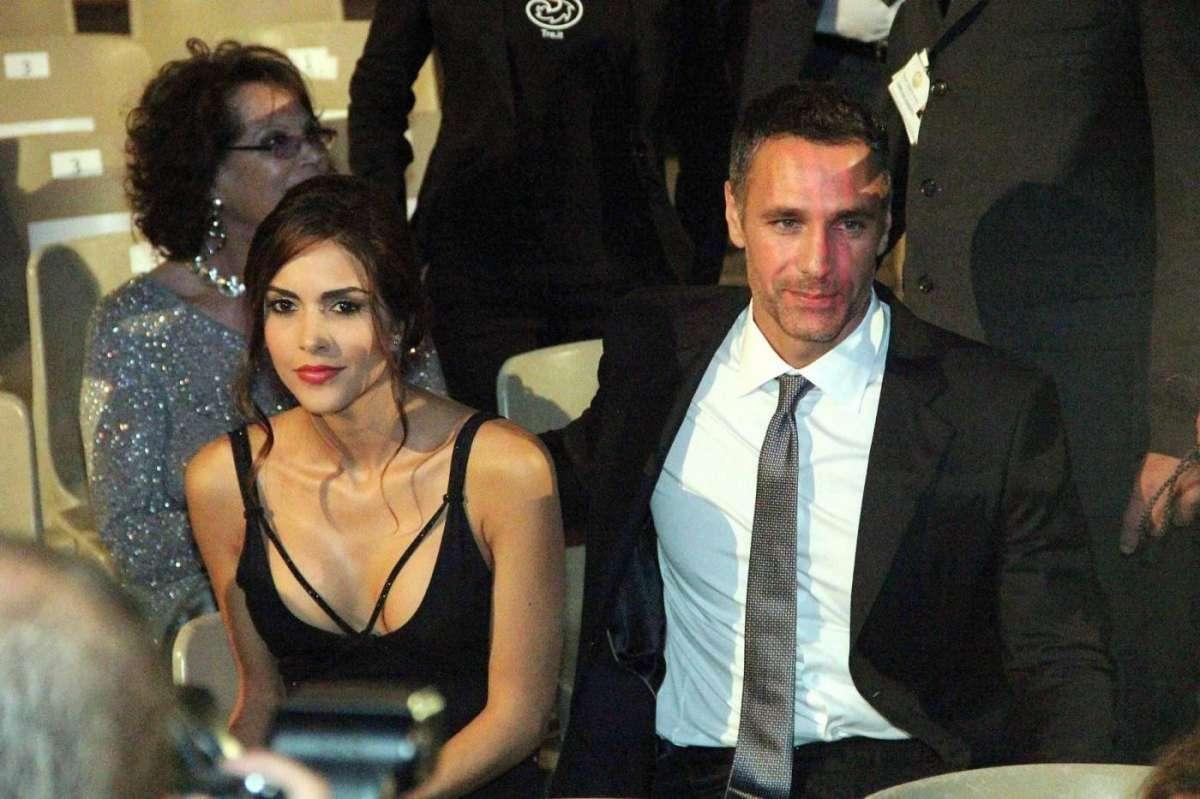 Rocio Munoz Morales e Raoul Bova a Taormina