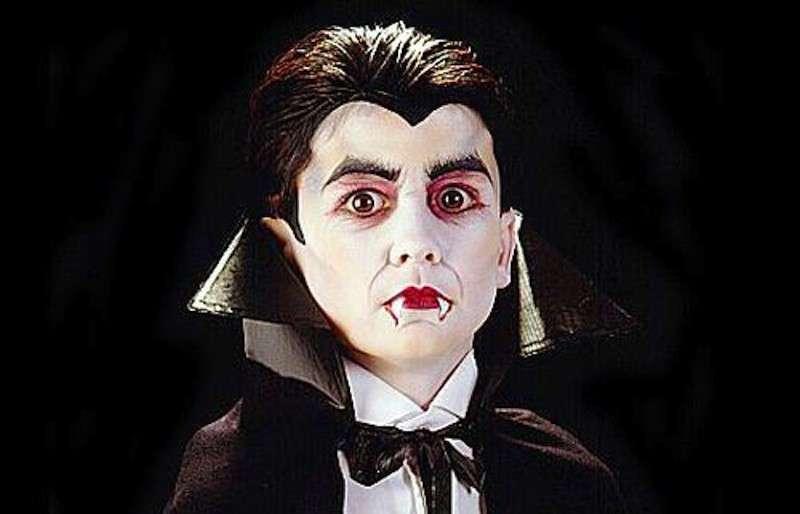 Trucco da conte Dracula