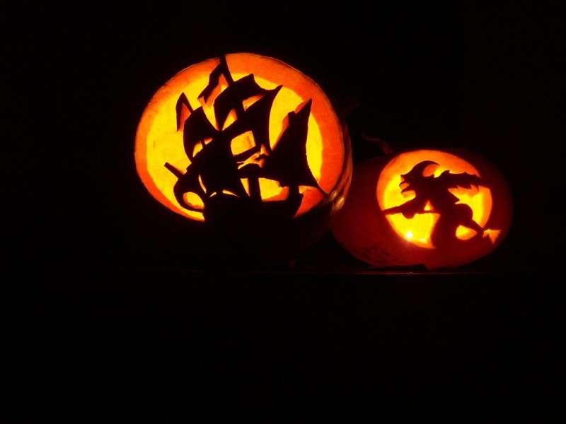 Zucche di Halloween creative