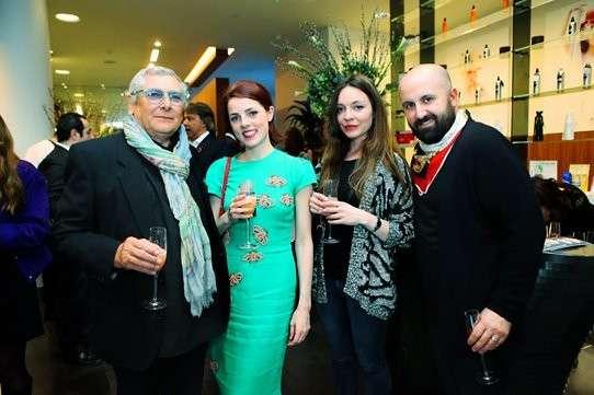Aldo Coppola all'atelier di Londra