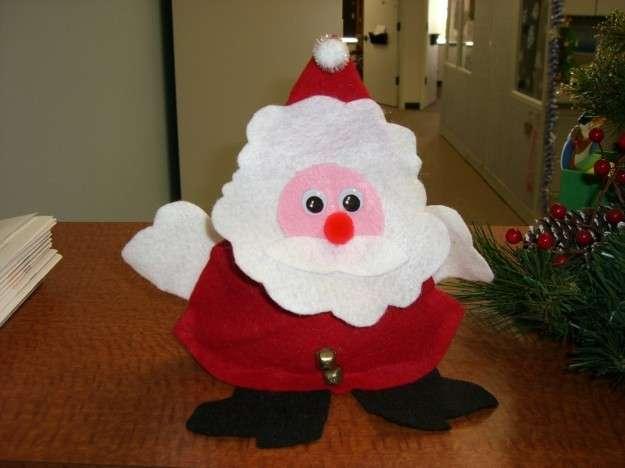 Babbo Natale in feltro