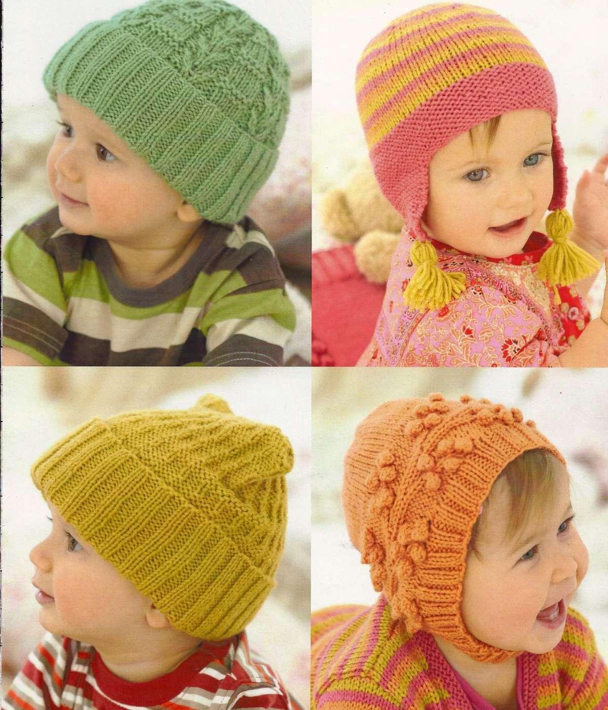Cappellini a maglia colorati