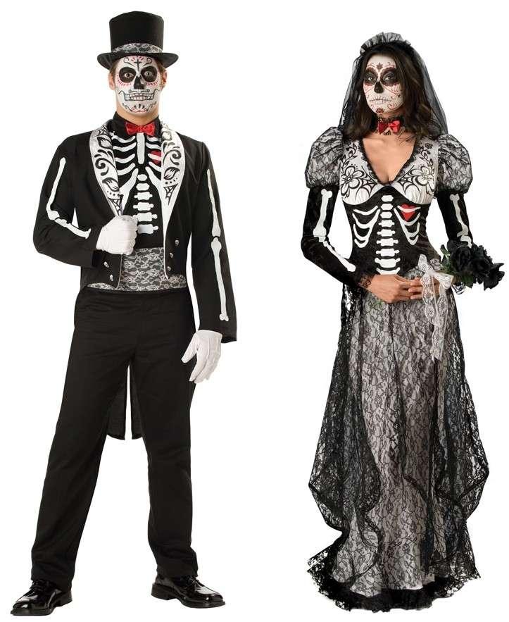 Coppia di scheletri