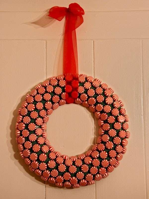 Corona di caramelle