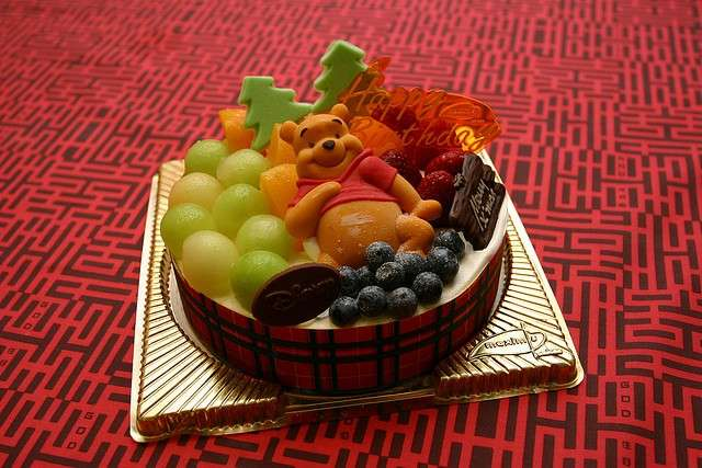 Crostata di frutta per Winnie the Pooh