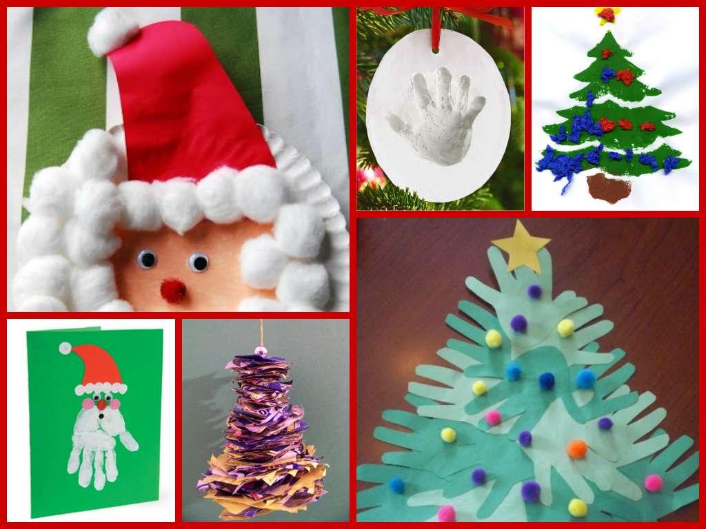 Lavoretti di Natale per i più piccoli