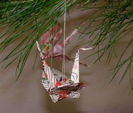 Origami per l'albero