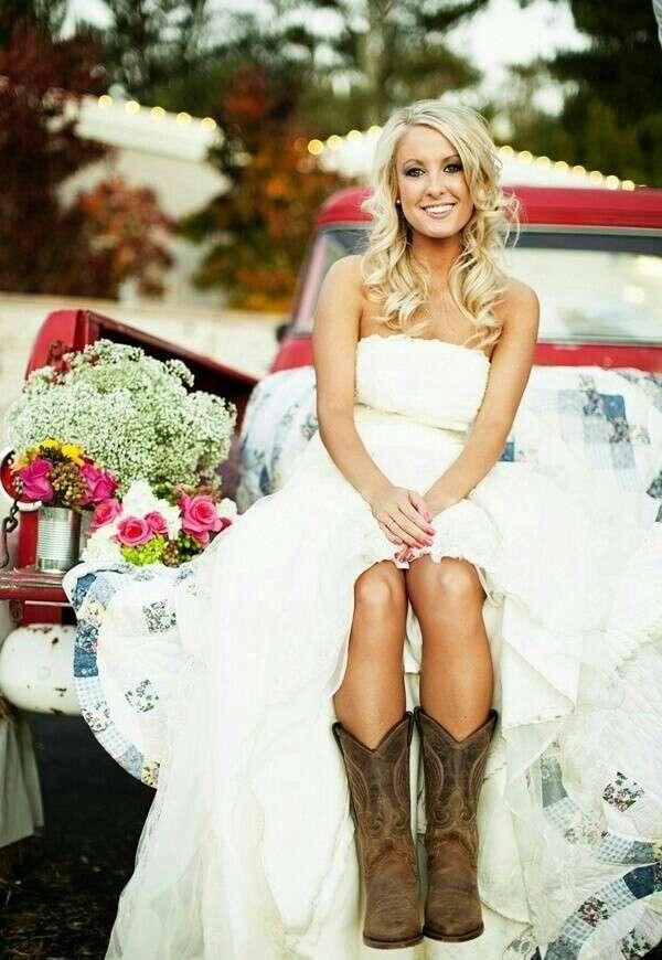 Abito da sposa country style