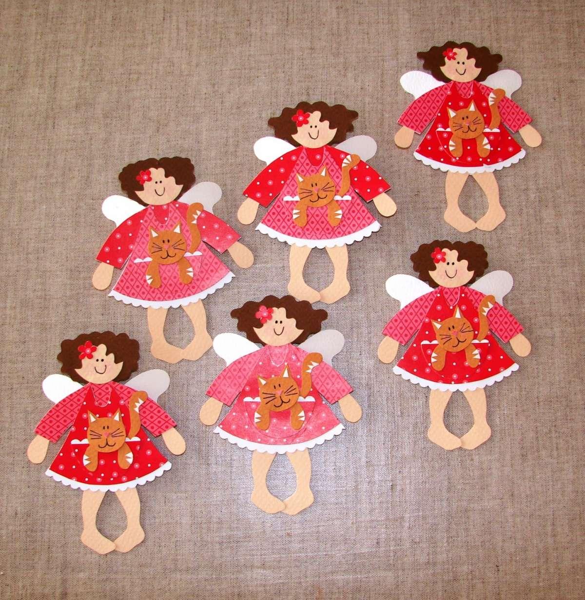 Angioletti di carta per bambini