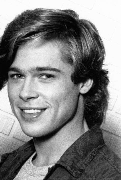 Brad Pitt agli inizi della sua carriera