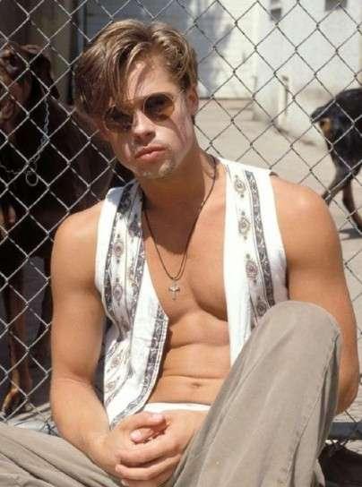 Brad Pitt nei primi anni '90