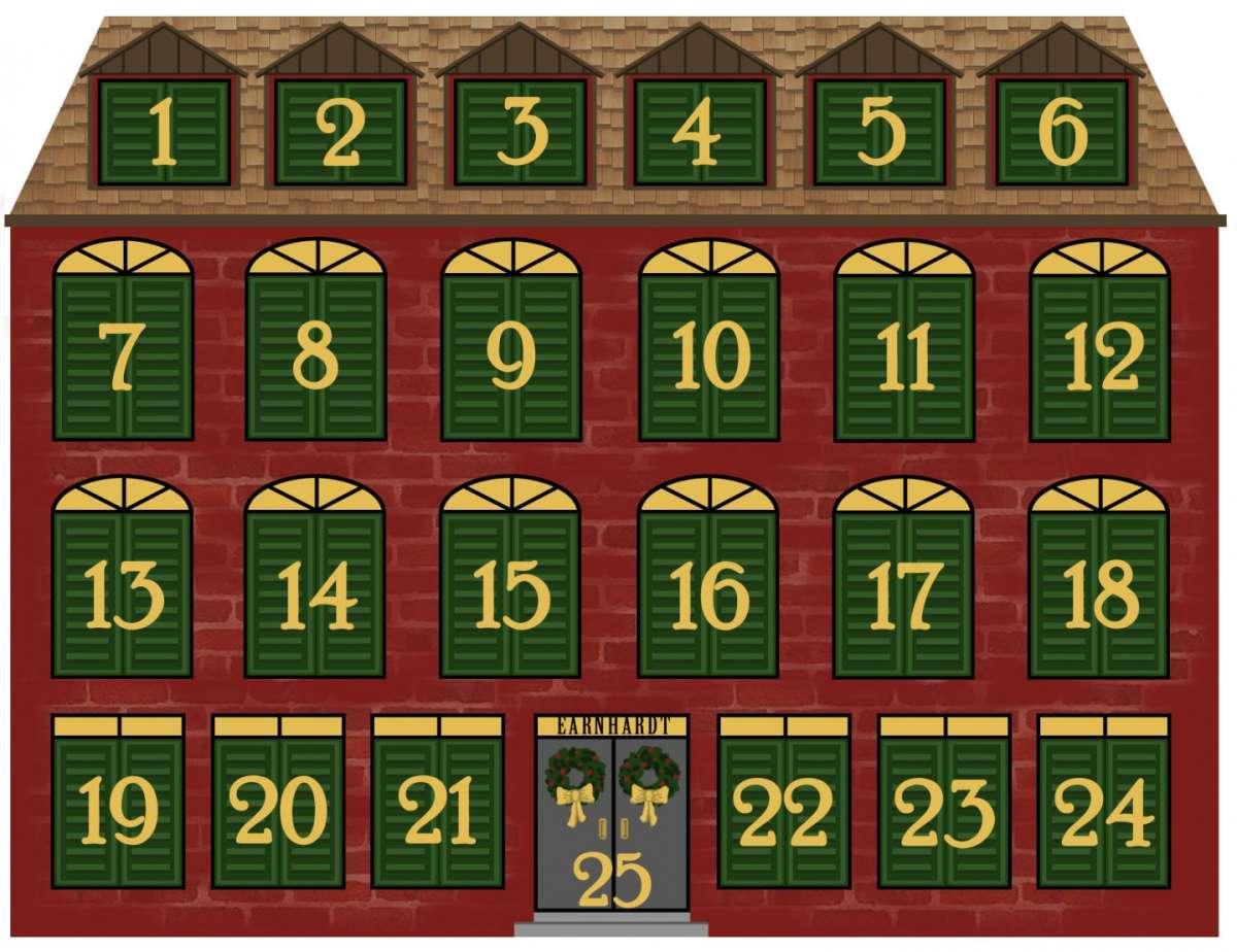 Casa calendario dell'Avvento