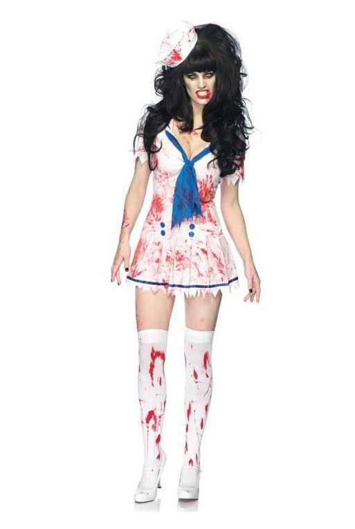 Costume da marinaretta zombie