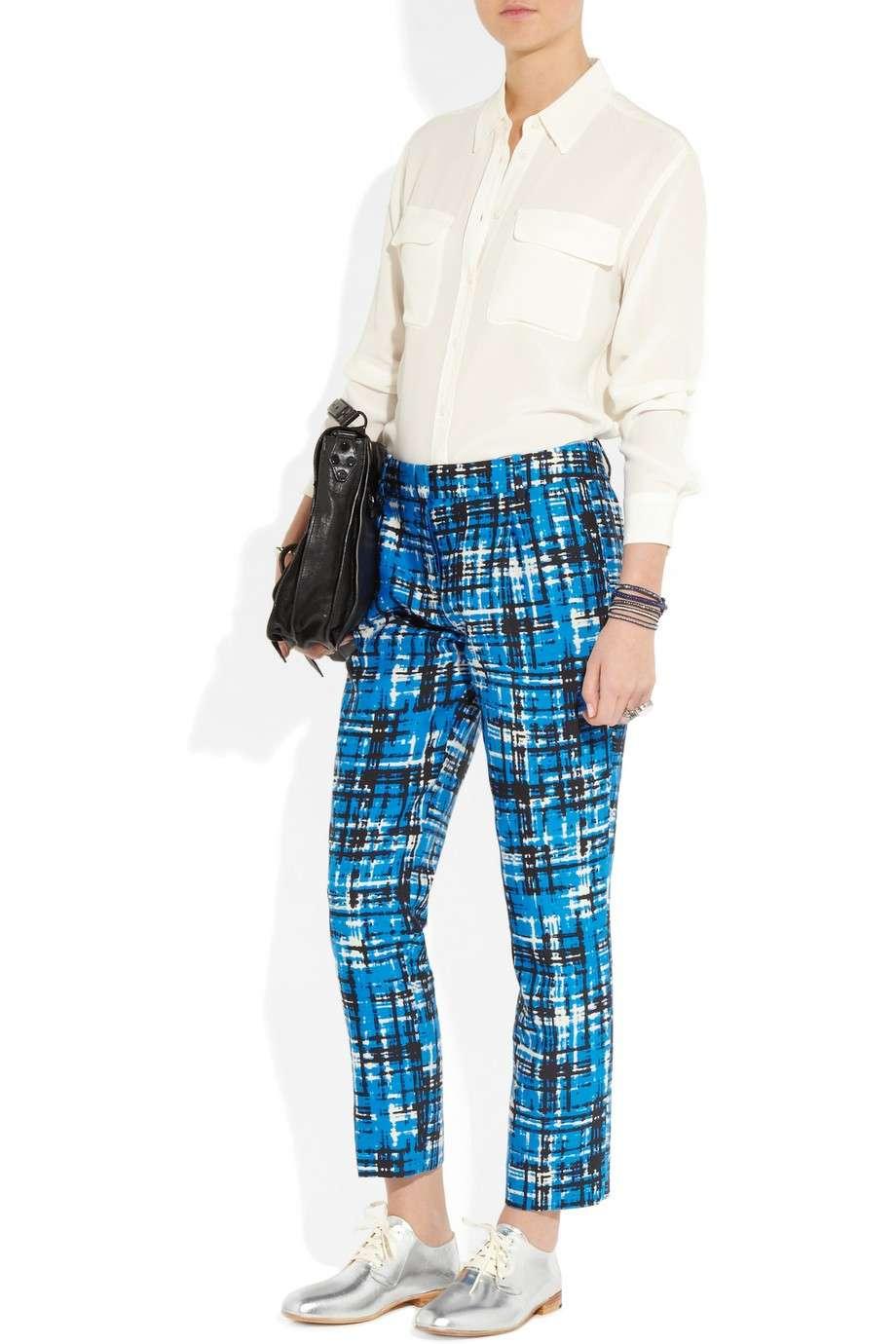 Francesine e pantaloni colorati