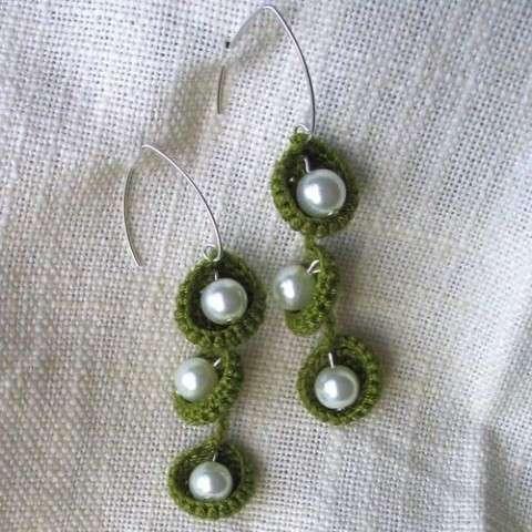 Orecchini con le perle