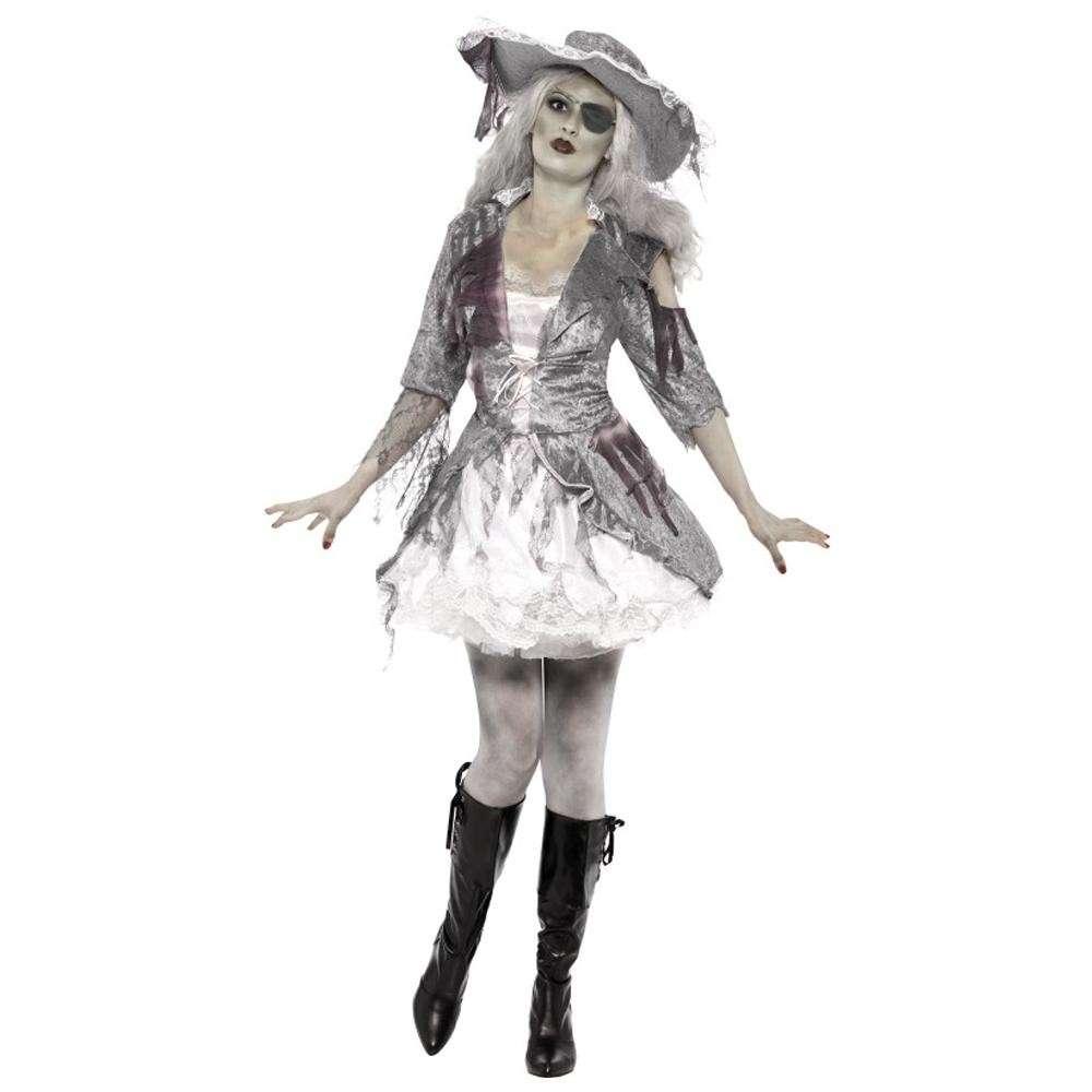 Pirata zombie per Halloween