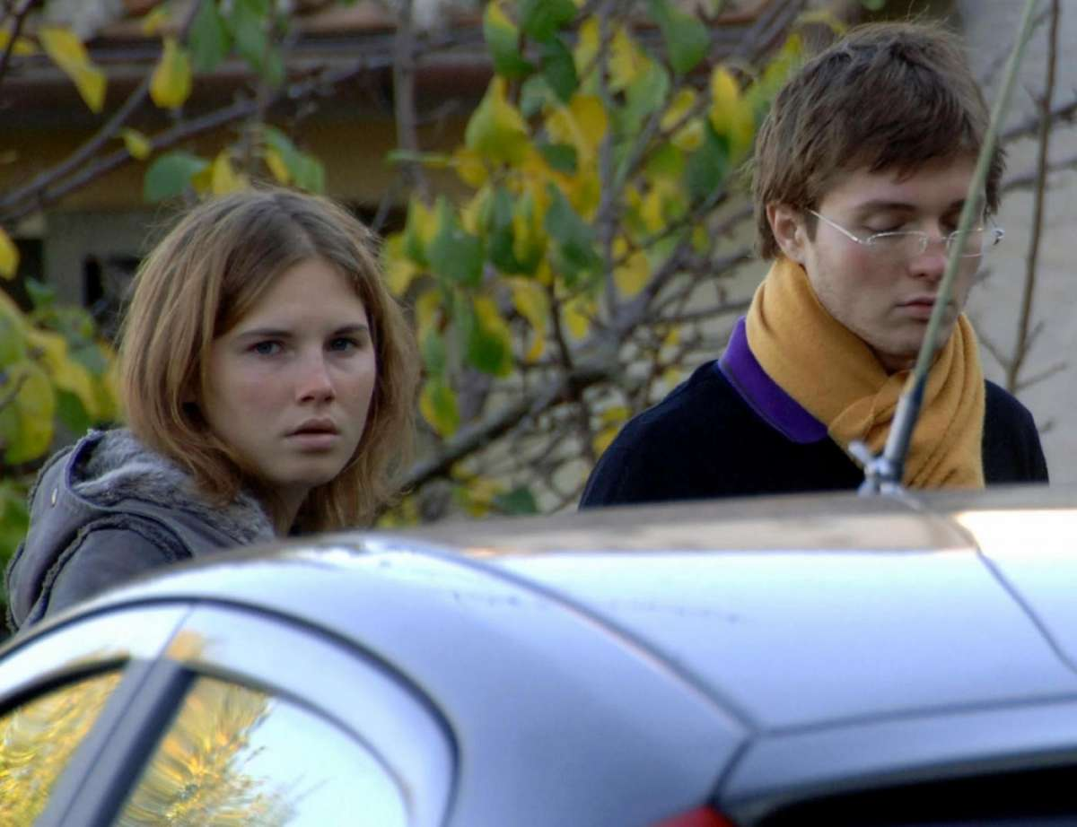 Amanda e Raffaele vengono arrestati