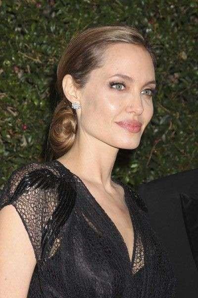 Angelina Jolie balayage