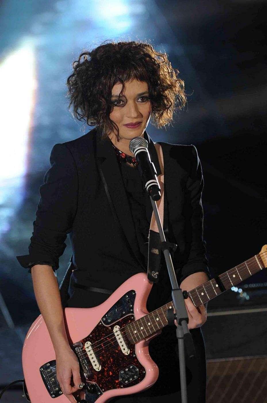 Carmen Consoli al Festival di Sanremo