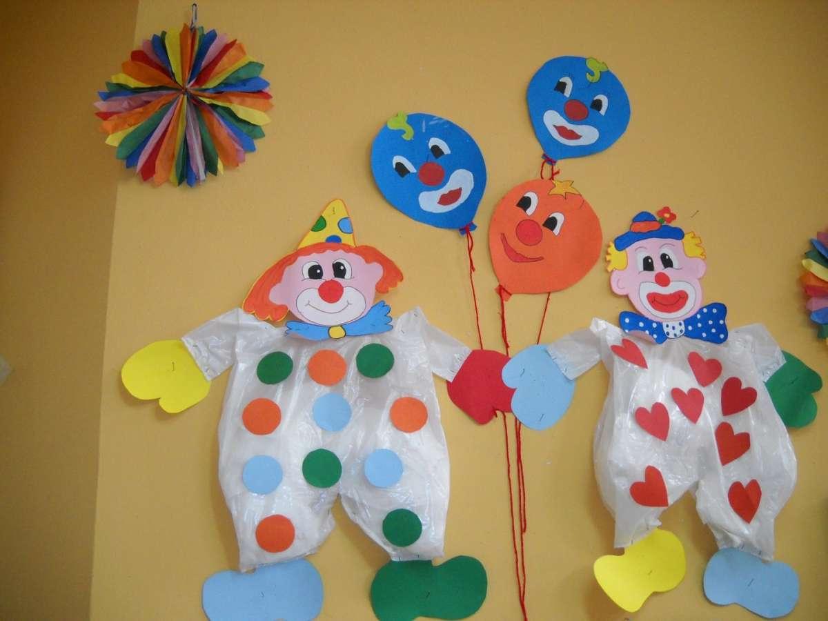 Clown alle pareti