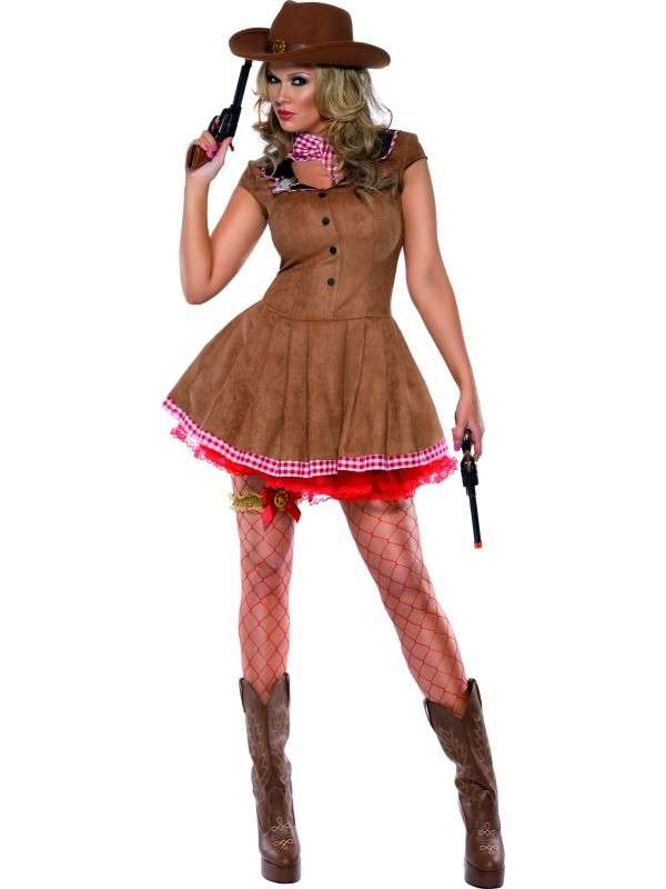 Costume da cowgirl