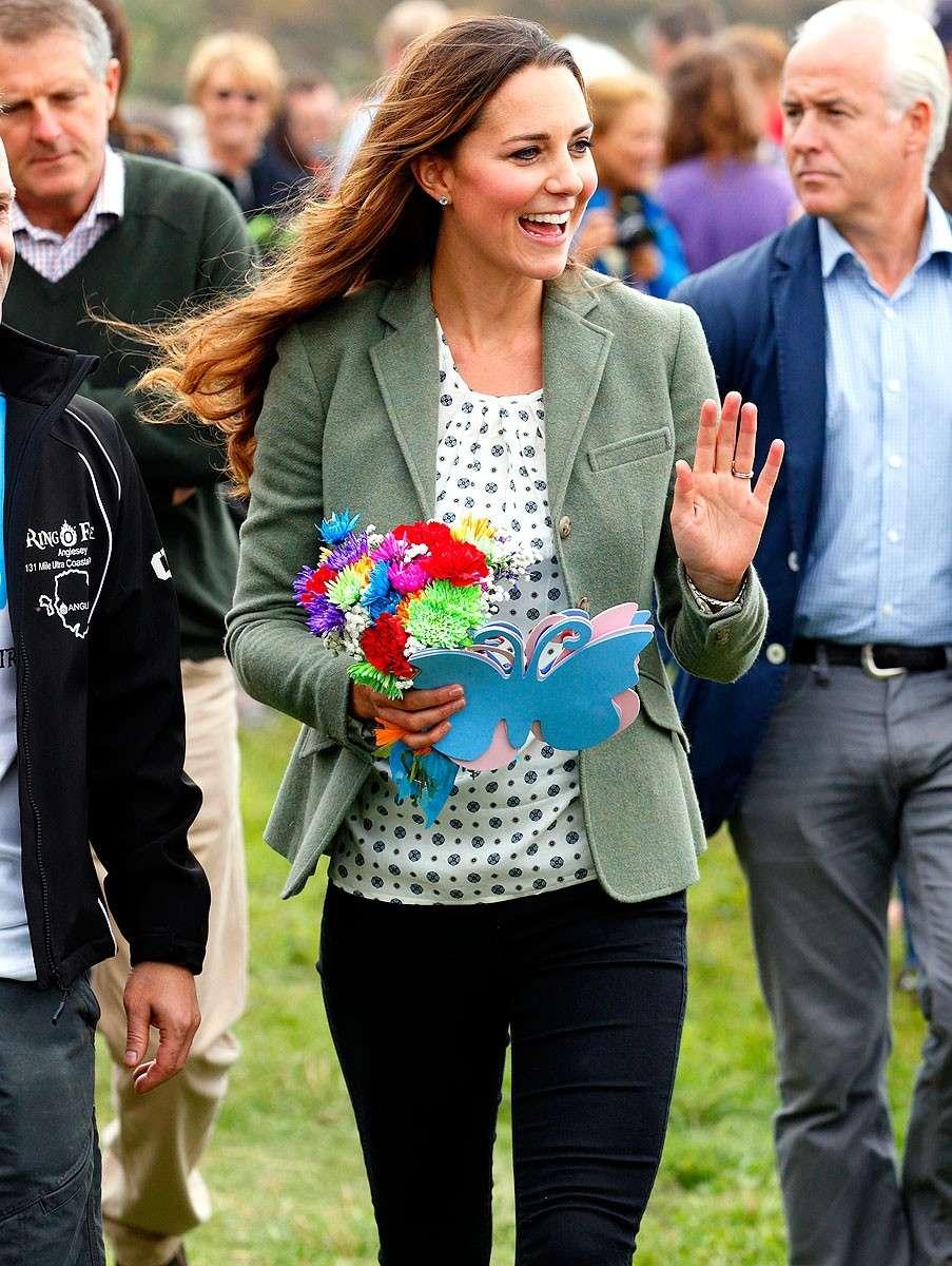 Kate Middleton a pochi mesi dal parto