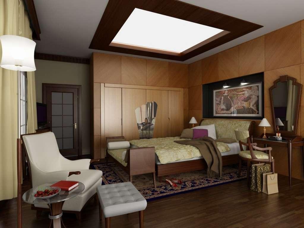 La soluzione per una camera da letto Art Deco
