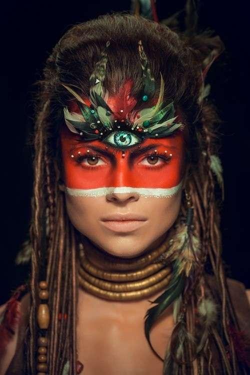 Make up da indiana creativo