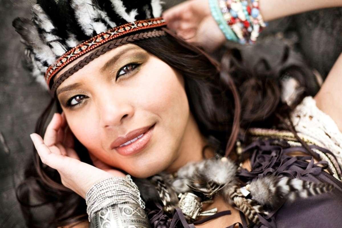 Make up di Carnevale stile Pocahontas