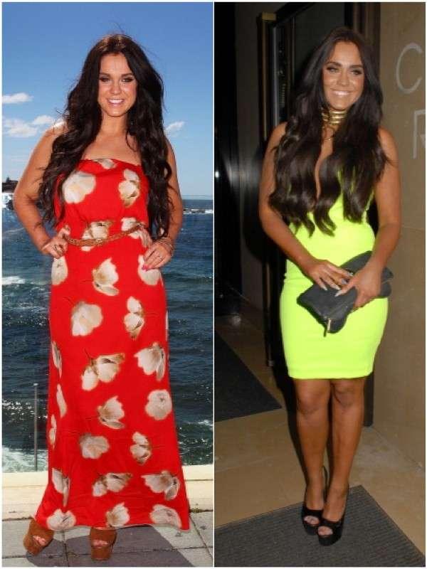Prima e dopo la dieta dimagrante