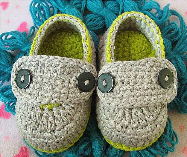 Scarpine bicolore per bebè