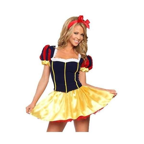 Sexy Biancaneve per Carnevale