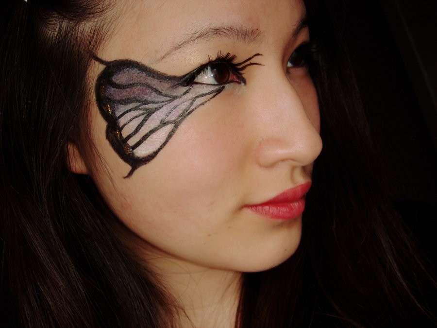 Trucco ali di farfalla