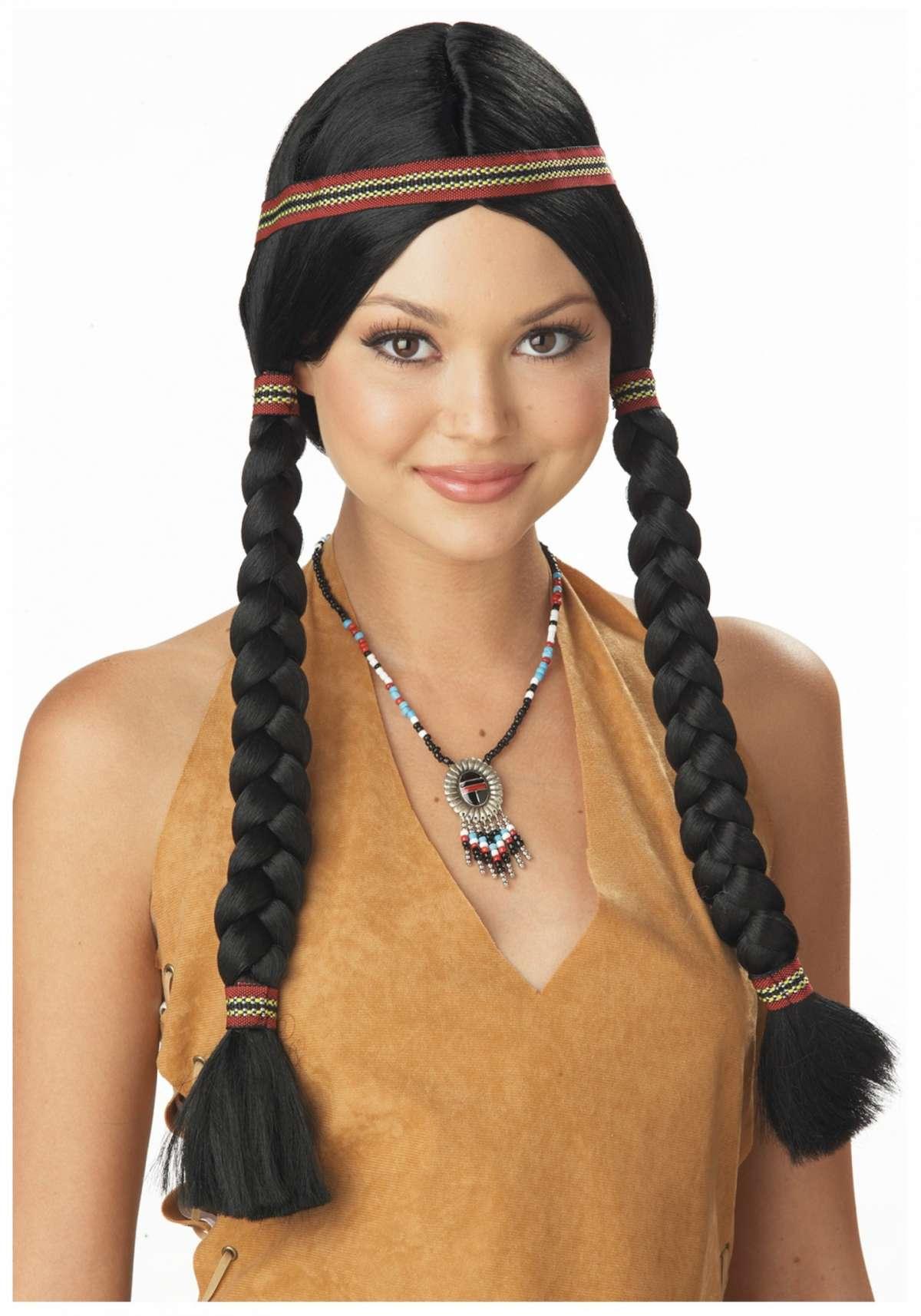 Trucco da indiana wig