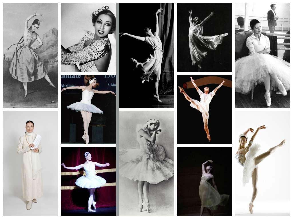 Ballerine nella storia