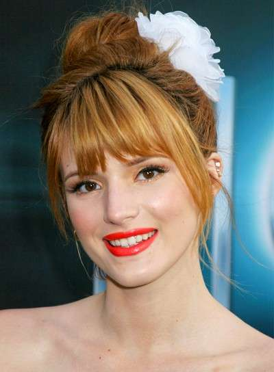 Bella Thorne beauty look