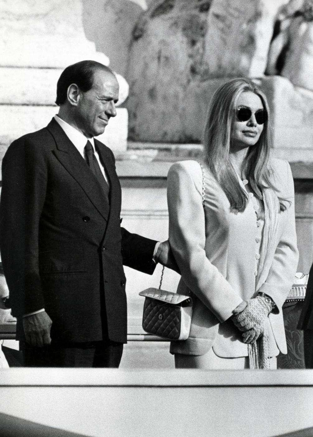 Berlusconi e Veronica Lario