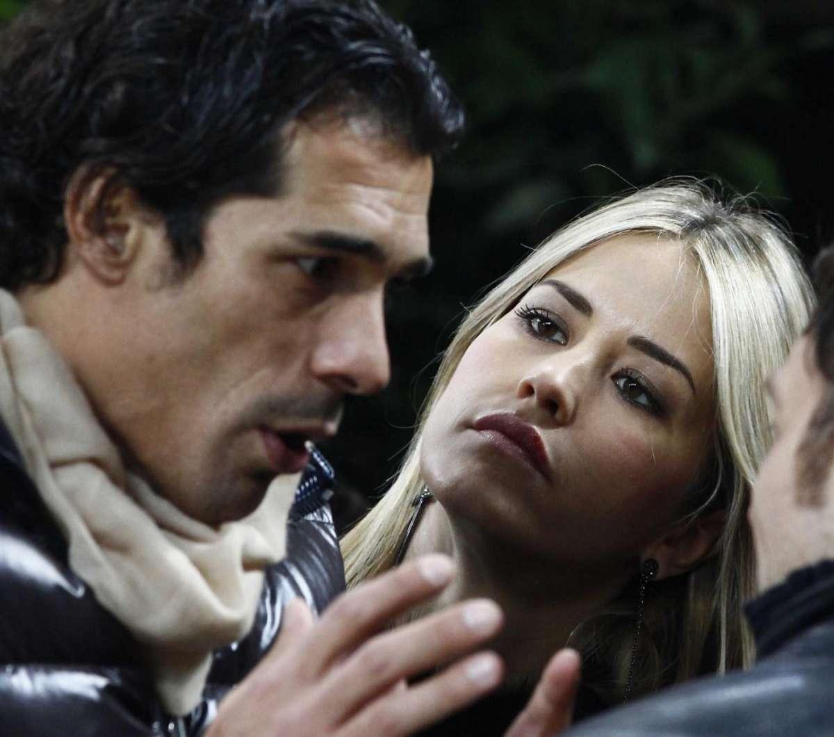 Bernardo Corradi ed Elena Santarelli