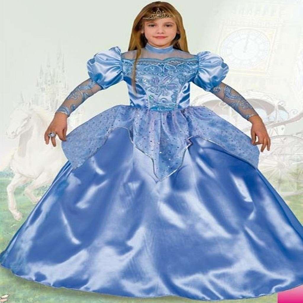 Costume da principessa celeste