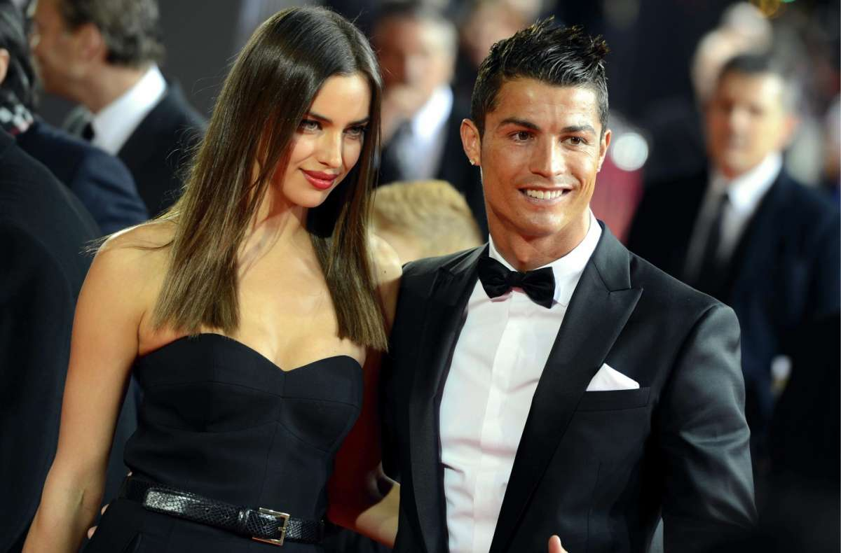 Cristiano Ronaldo e la fidanzata Irina Shayk