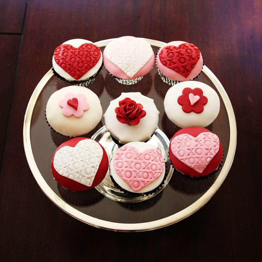Cupcake con pasta di zucchero