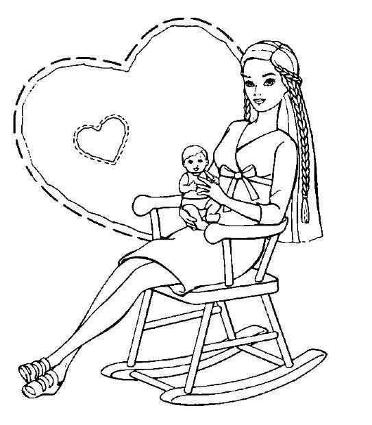 Disegno per una neo mamma