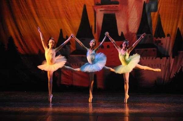 I balletti degli aspiranti ballerini