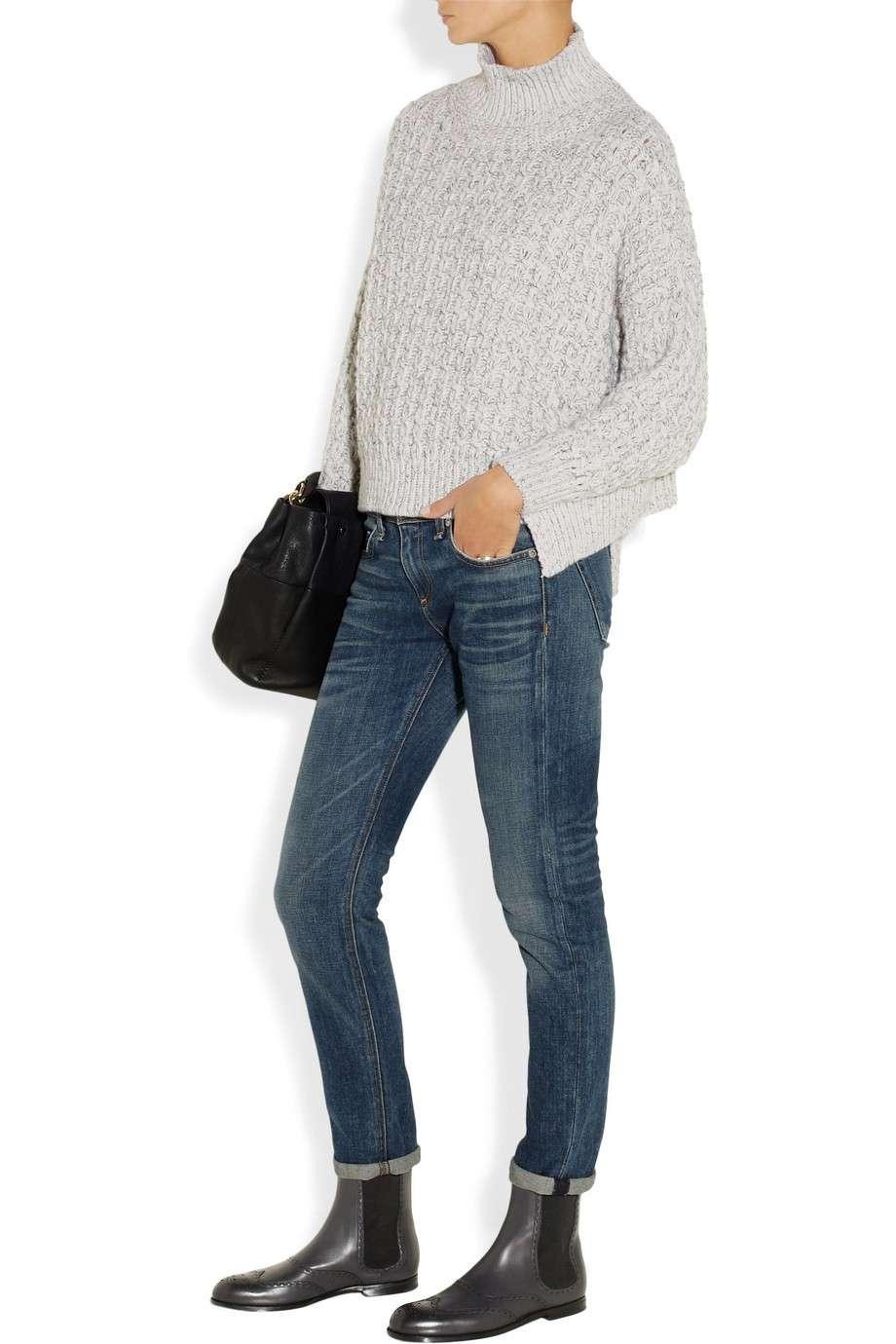 Jeans e Chelsea Boots