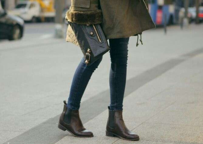 Jeans skinny e chelsea boots