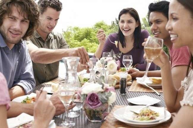 Pranzo tra amici
