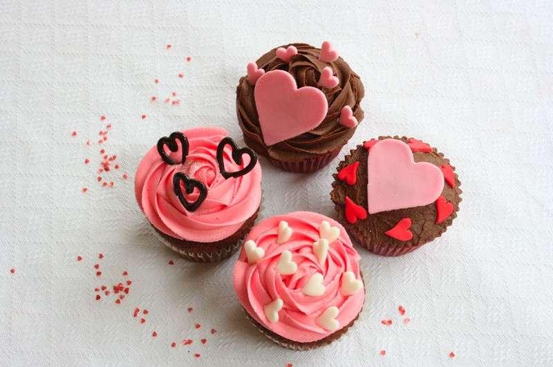 Romantici cupcake