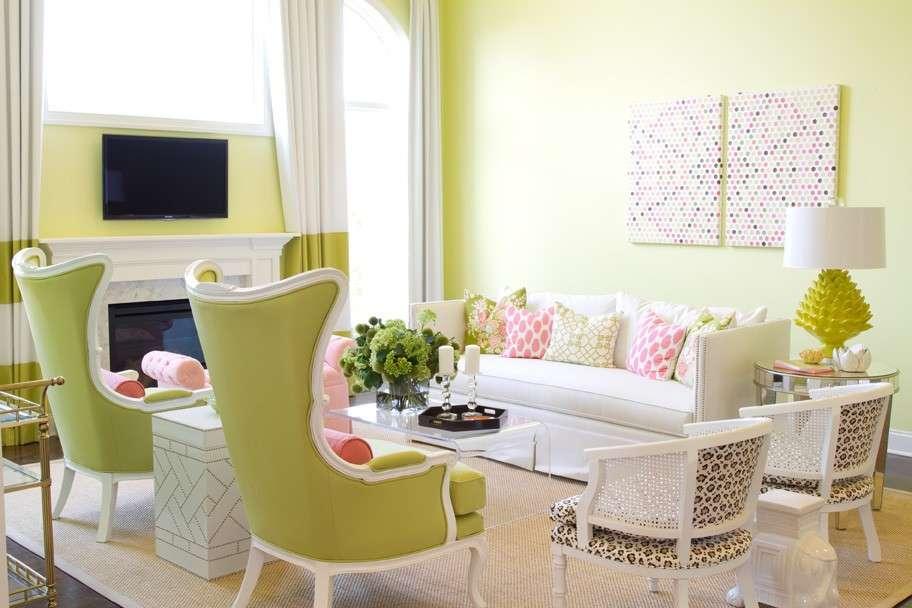 Abbinare pareti e mobili color pastello