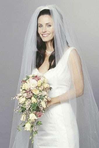 Abito da sposa di Monica in Friends